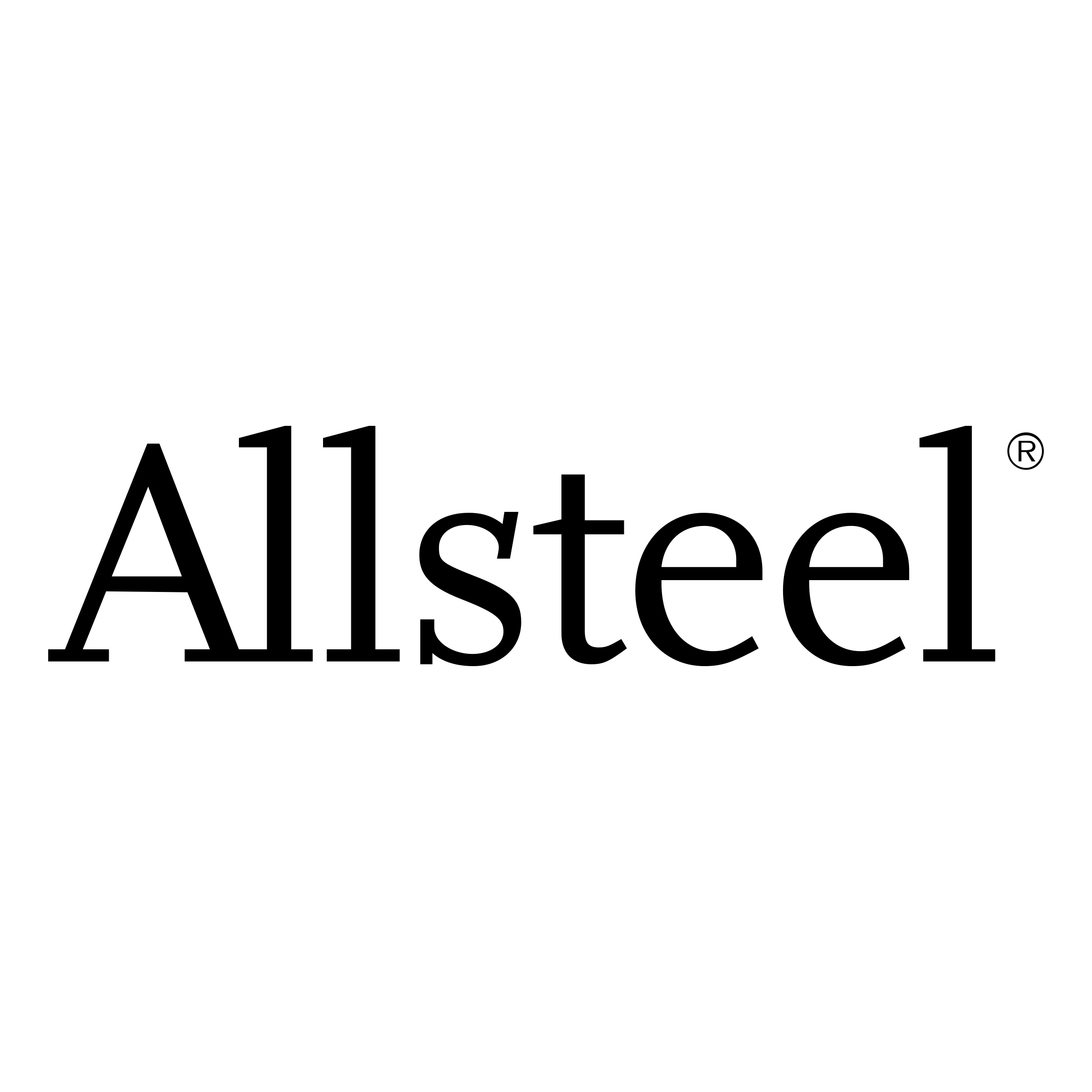 All Steel Logo